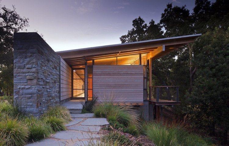 Idée Aménagement Jardin Devant Maison : 50 Idées Pour La ... à Jardin Devant Maison Moderne