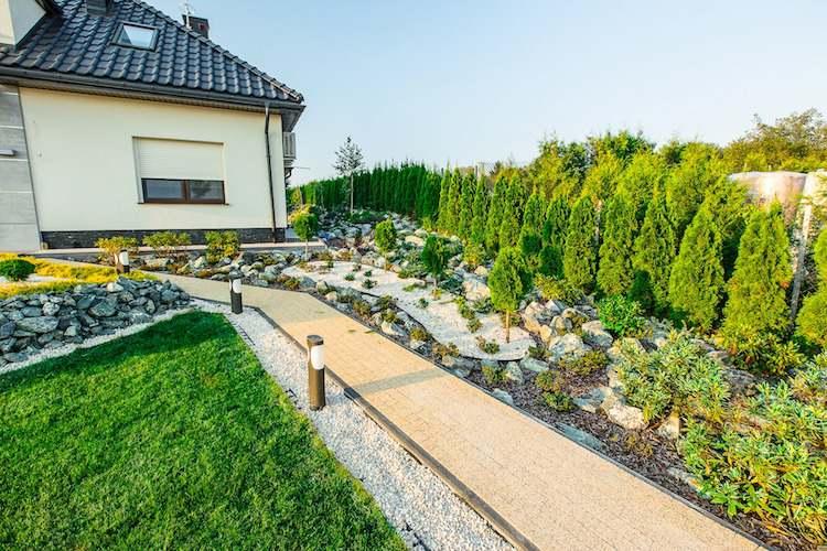 Idee Jardin Devant Maison - Le Spécialiste De La ... avec Jardin Devant Maison Moderne