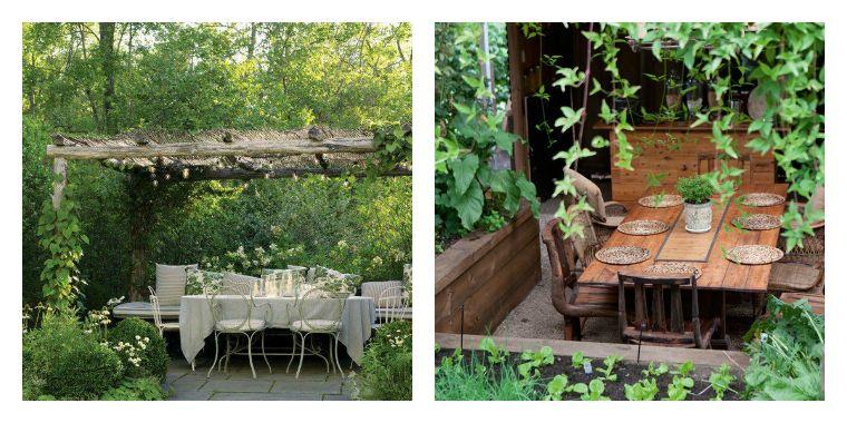 Idée Jardin Et Terrasse : Créer Un Salon De Jardin Convivial serapportantà Confection De Jardin Contemporain Et Convivial
