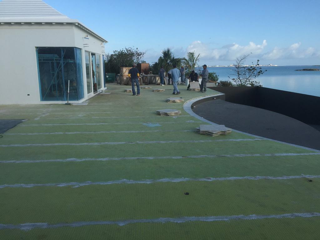 Impermeabilizzazione Piscina - Hamilton - Bermuda intérieur Acriflex Fybro