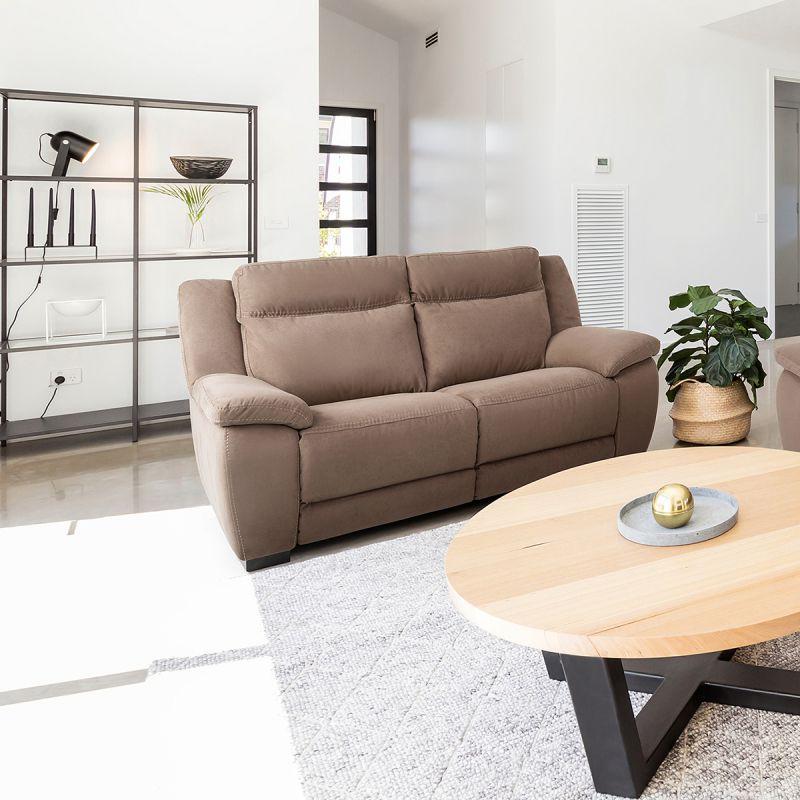 Jerez - Canapés Relax 3 Places Electrique Et 2 Places Fixe ... avec Canapé William 3 Places But