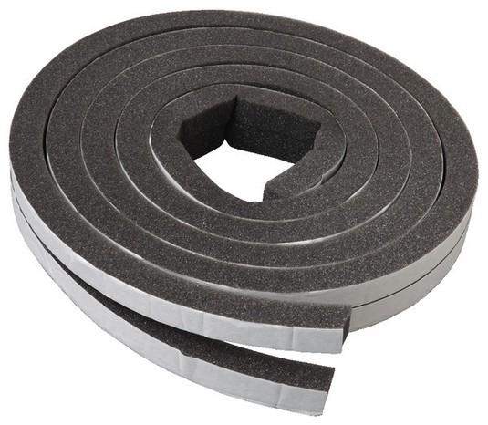 Joint Mousse Adhésif Pour Porte De Garage - L. 6,5 M X L ... pour Joint D'Étanchéité Concave Brico Depot