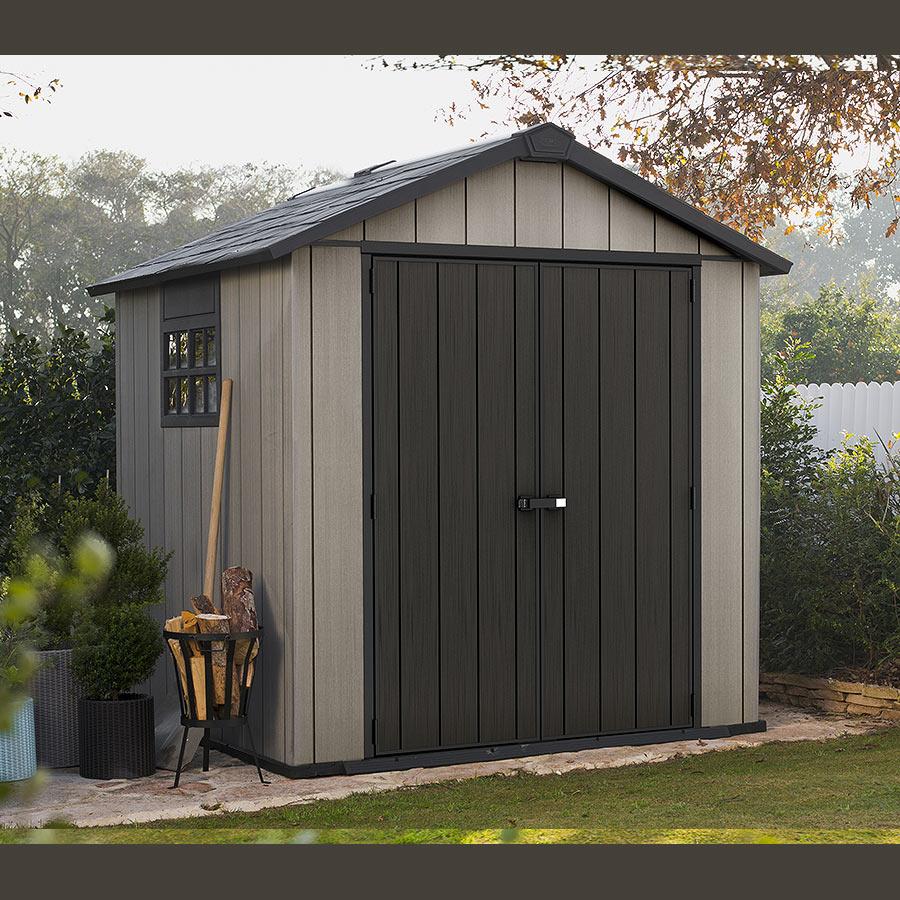 Keter Oakland 757 Garden Shed | Ezyneezy Online à Keter Oakland 757