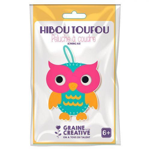 Kit Peluche Enfant À Coudre Diy - Hibou Toufou destiné Beton Peluche