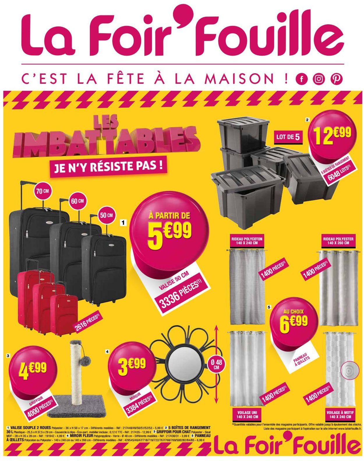 La Foir'Fouille Catalogue - 03.02 - 09.02.2020 | Rabato destiné Pouf La Foir'Fouille