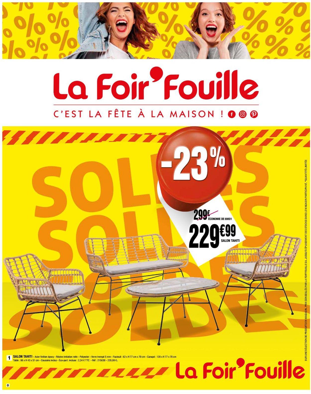 La Foir'Fouille Catalogue Actuel 15.07 - 26.07.2020 ... destiné Pouf La Foir'Fouille
