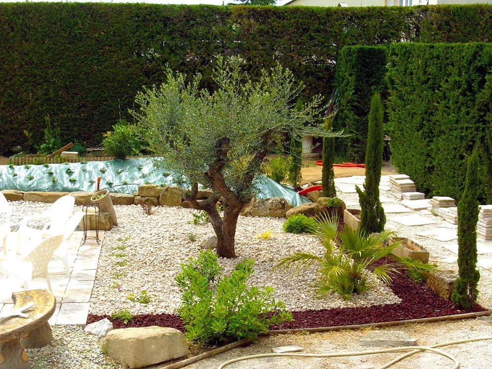 La Galerie Photos - Les Jardins De Bastide, Paysagiste ... destiné Parterre Gravier
