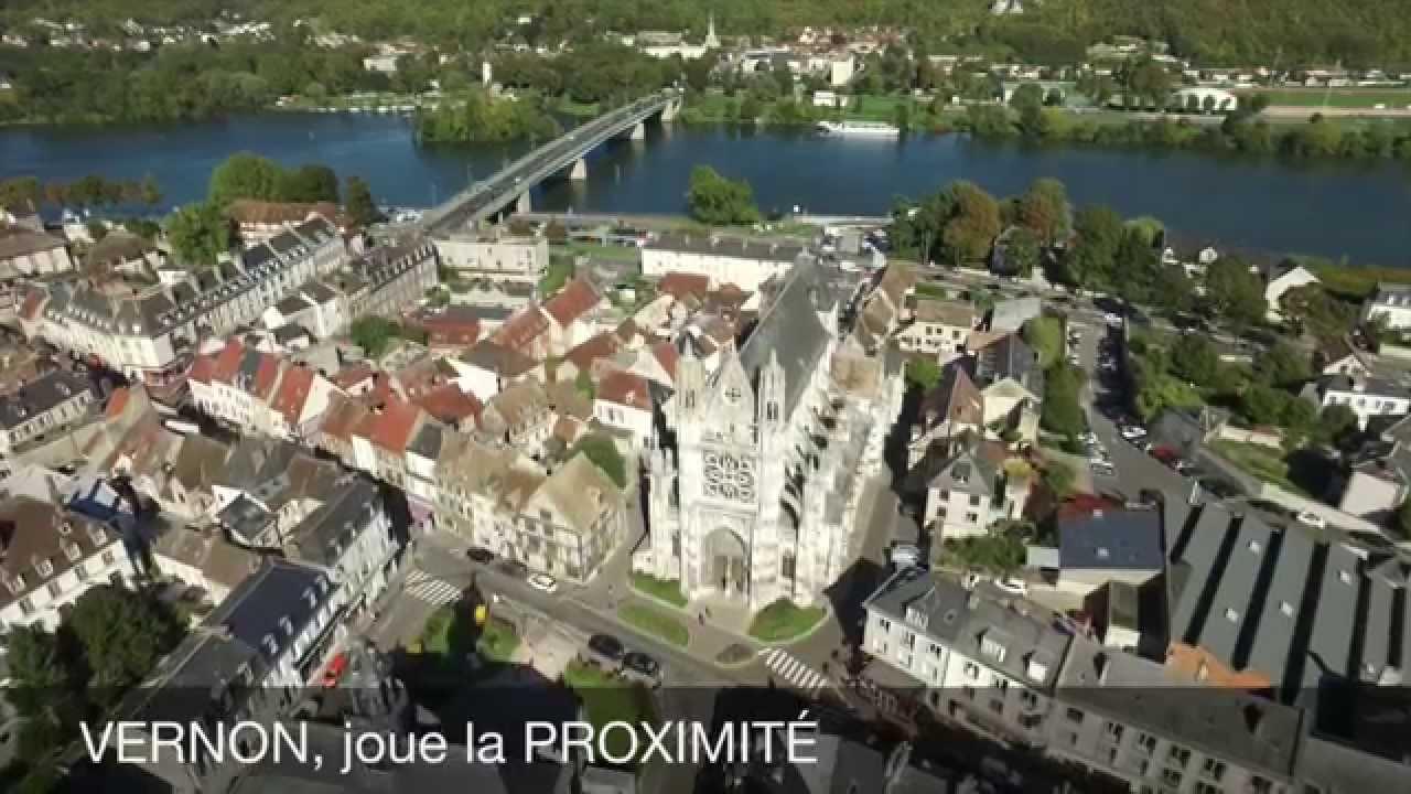 La Ville De Vernon - dedans Piscine Container Haut De France