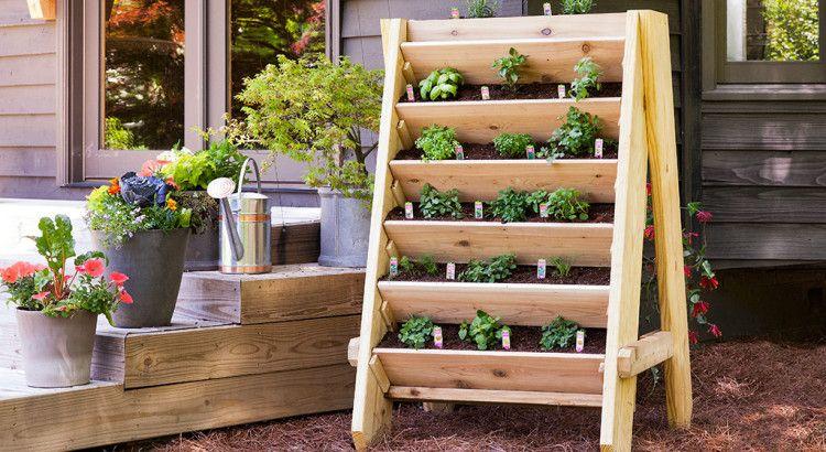 Le Processus De Fabrication De Votre Jardinière Végétale # ... dedans Potager Suspendu En Palette