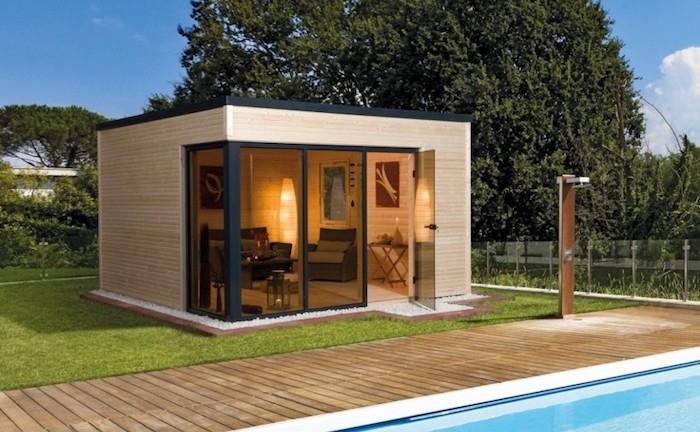 Le Top Des Abris De Jardin - 45 Idées Design - Archzine.fr avec Cabane En Dur