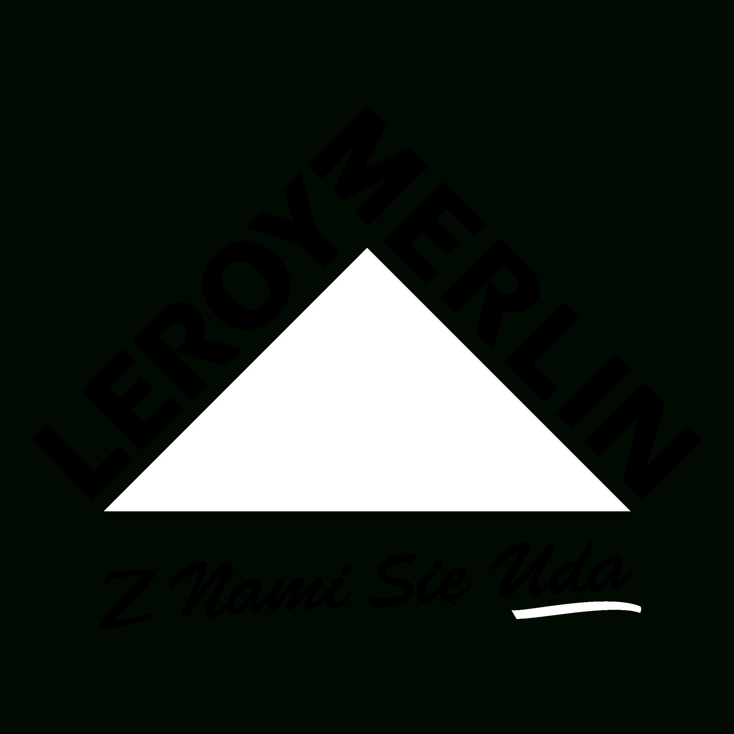 Leroy Merlin Logo Png Transparent & Svg Vector - Freebie ... dedans Tube Transparent Rigide Leroy Merlin