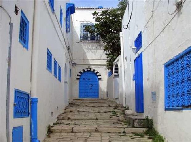 Les Maisons En Tunisie destiné Decoration Mur Exterieur Maison En Tunisie