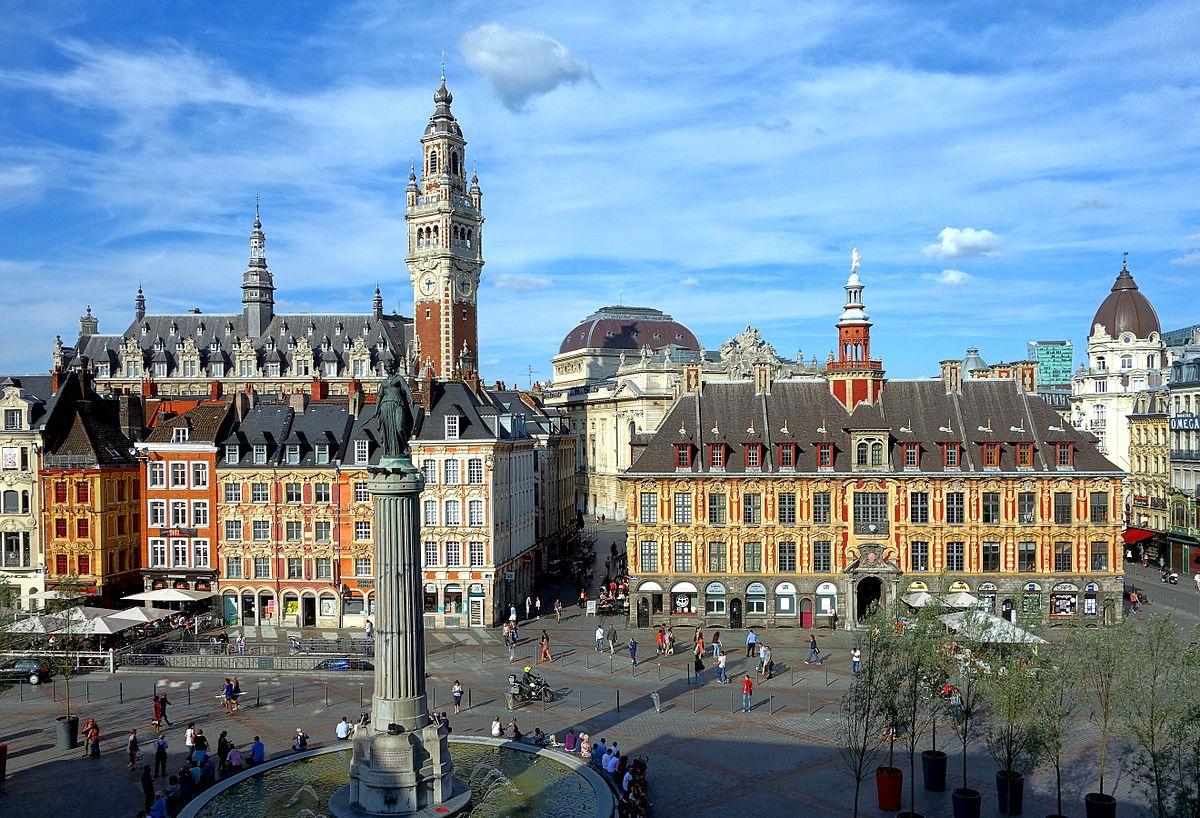 Lille - Wikipedia dedans Piscine Container Haut De France