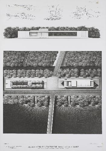 L'Œuvre Esquisses, Élévation Et Plan Jardin : Franck Neau ... à Gertrud+Franck+Plan+Jardin