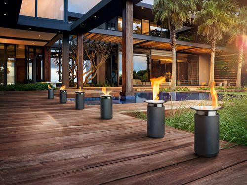 Luna Cylinder Gel Firepit | Outdoor, Pergola, Outdoor Decor destiné Pergola Luna Jardiland