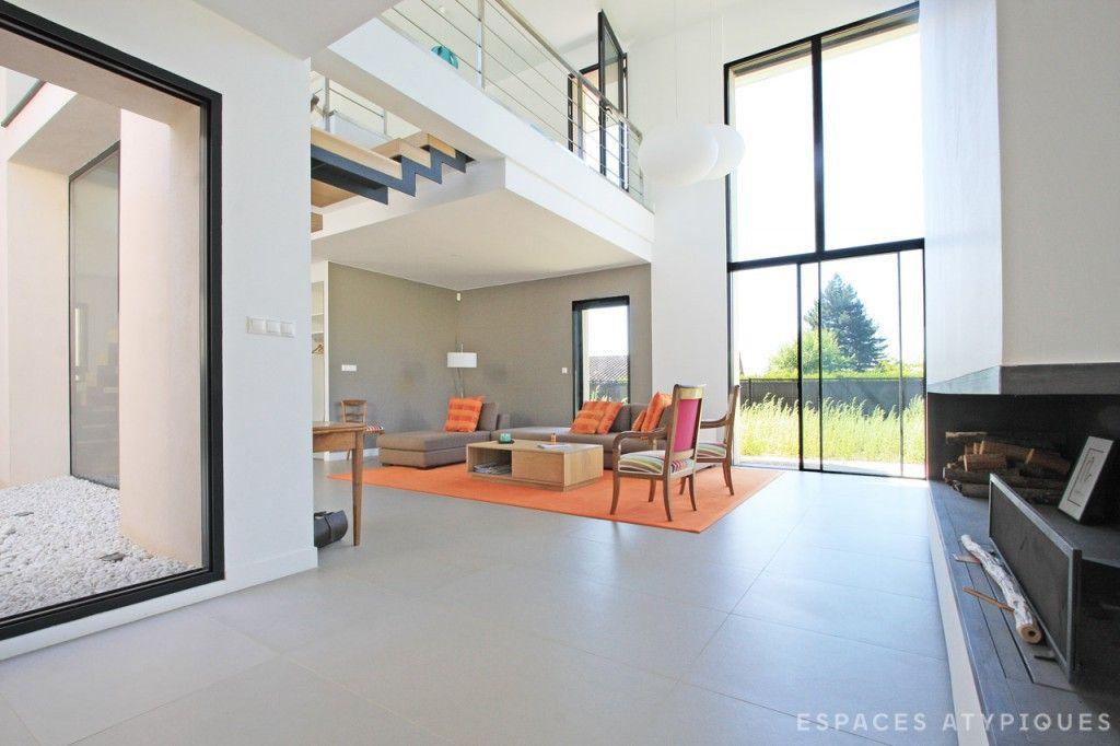 Lyon : Maison D'Architecte À Toit Plat | Modele Maison ... à Plan Maison Toit Plat 200M2