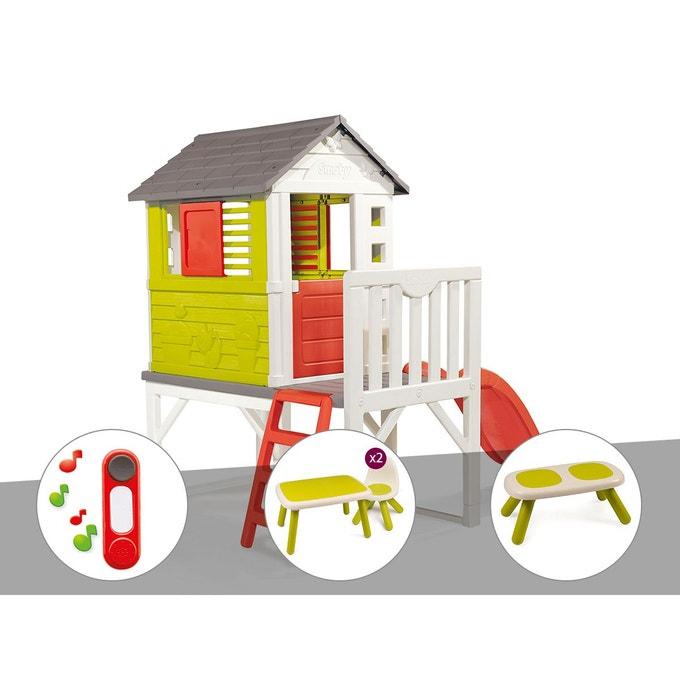 Maison Arbre Toboggan Smoby | Ventana Blog avec Cabane Smoby Occasion