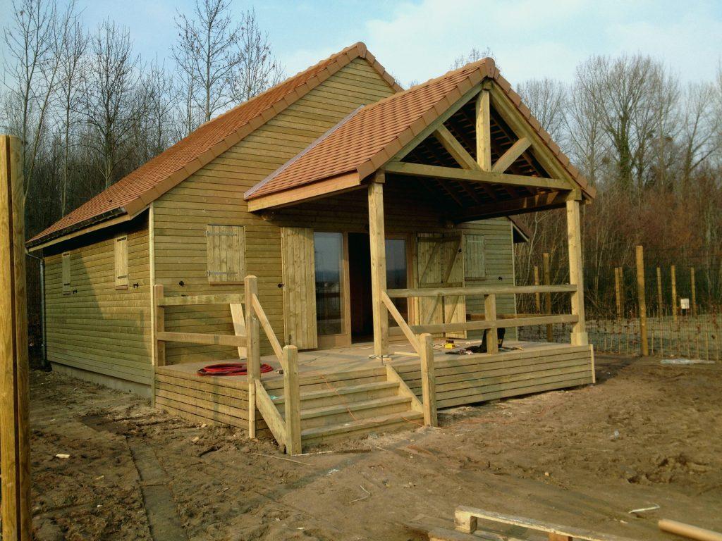 Maison Chalet Pas Cher - Châlet, Maison Et Cabane intérieur Maison En Bois En Kit Pas Cher Pologne