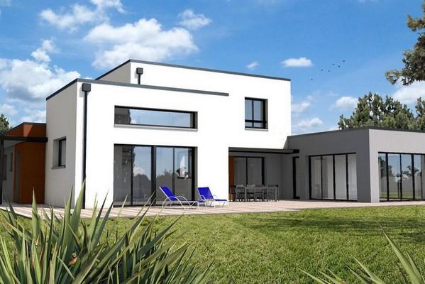 Maison Cube / Maison Cubique : Une Architecture Moderne ... à Maison Toit Plat 200M2