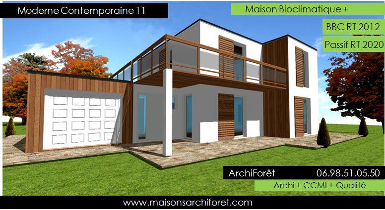 Maison Toit Plat Et Toiture Terrasse Bac Acier Ou Siplast ... avec Toit Terrasse Sans Acrotère