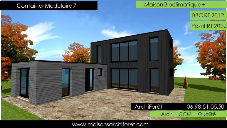 Maison Toit Plat Et Toiture Terrasse Bac Acier Ou Siplast ... intérieur Toit Terrasse Sans Acrotère