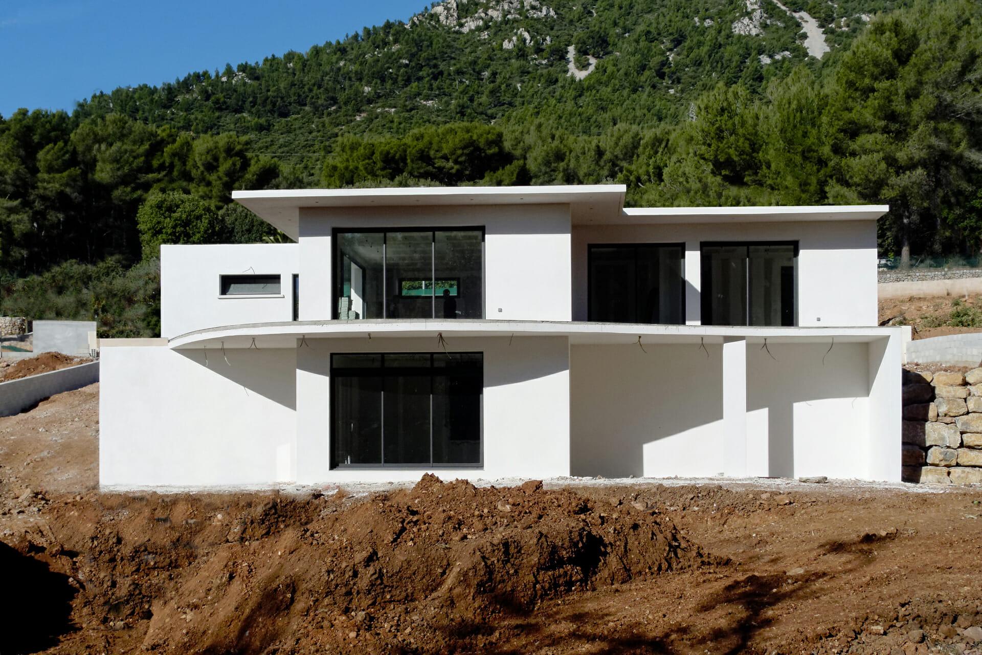 Maisons Contemporaines Et Passives - Euromac 2 encequiconcerne Maison Toit Plat 200M2