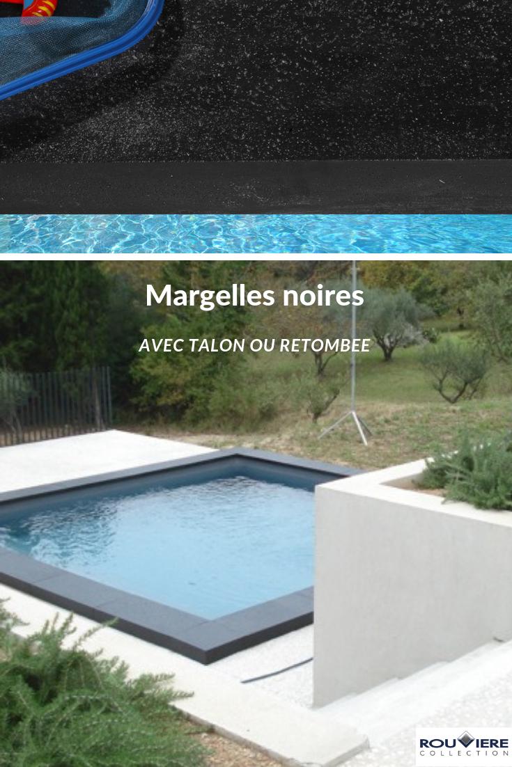 Margelle En Béton Modèle Grésé Pour Des Piscines Très ... à Margelle Avec Retombée