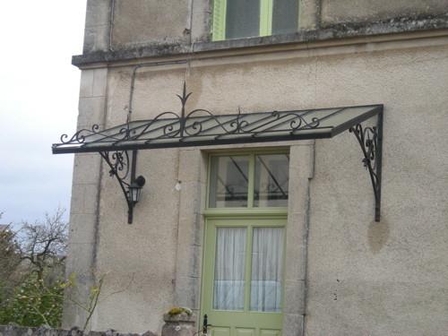 Marquise De Maison Ancienne | Ventana Blog tout Marquise Fer Forgé Occasion