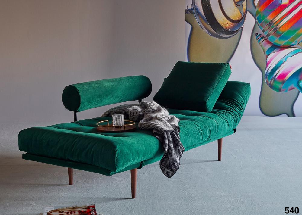 Meridienne Lit 1 Place - Large Choix De Couleurs Et Pieds ... pour Canapé Lit De Style Cuir Et Bois
