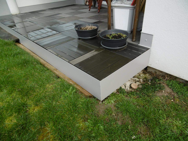 Mey'Er Herrlisheim- Habillage Et Bardage En Aluminium Dal ... tout Baguette Finition Terrasse Sur Plot