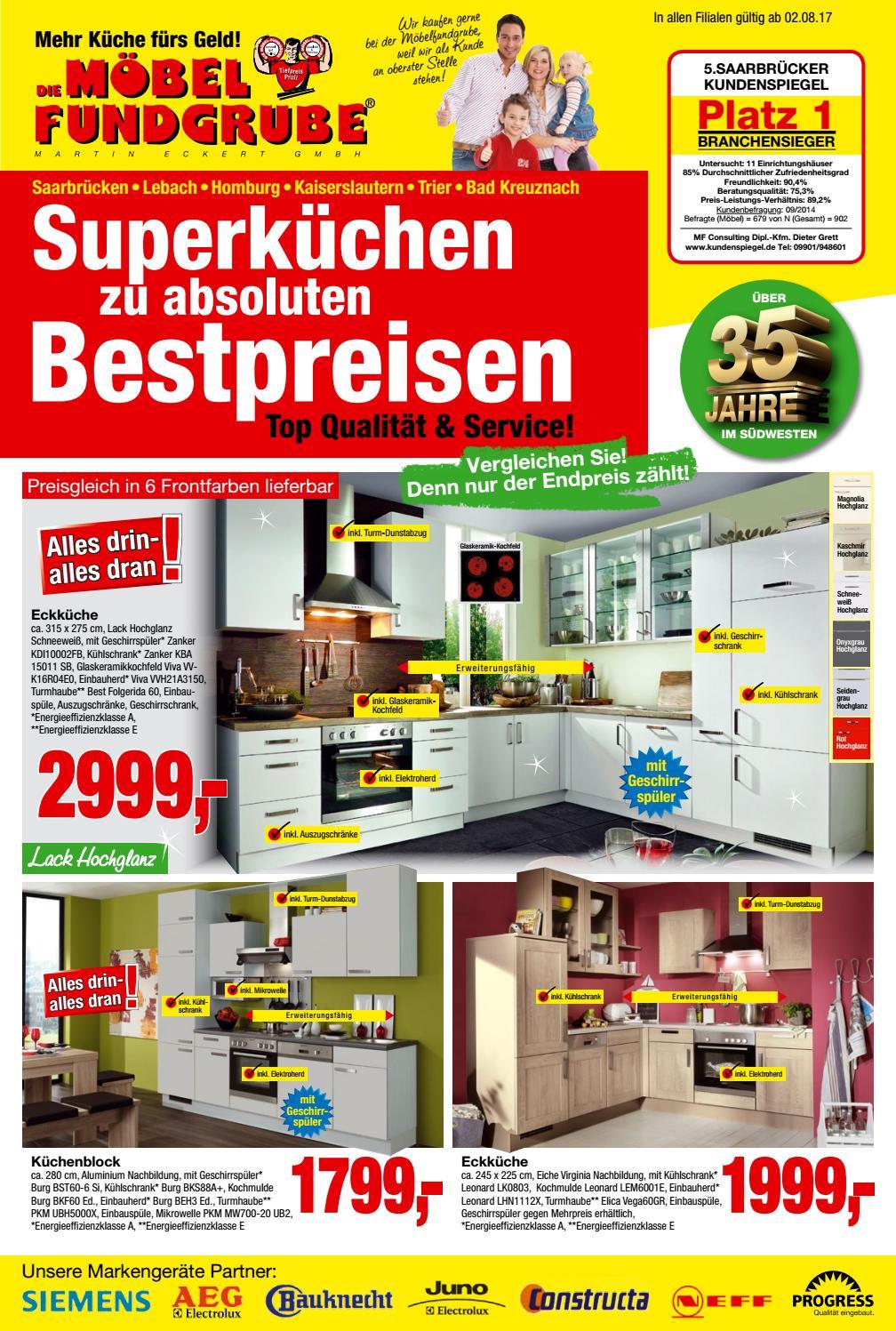 Möbel Fundgrube Küchenprospekt Kw 31 By Die Möbelfundgrube ... à Moebel Fundgrube