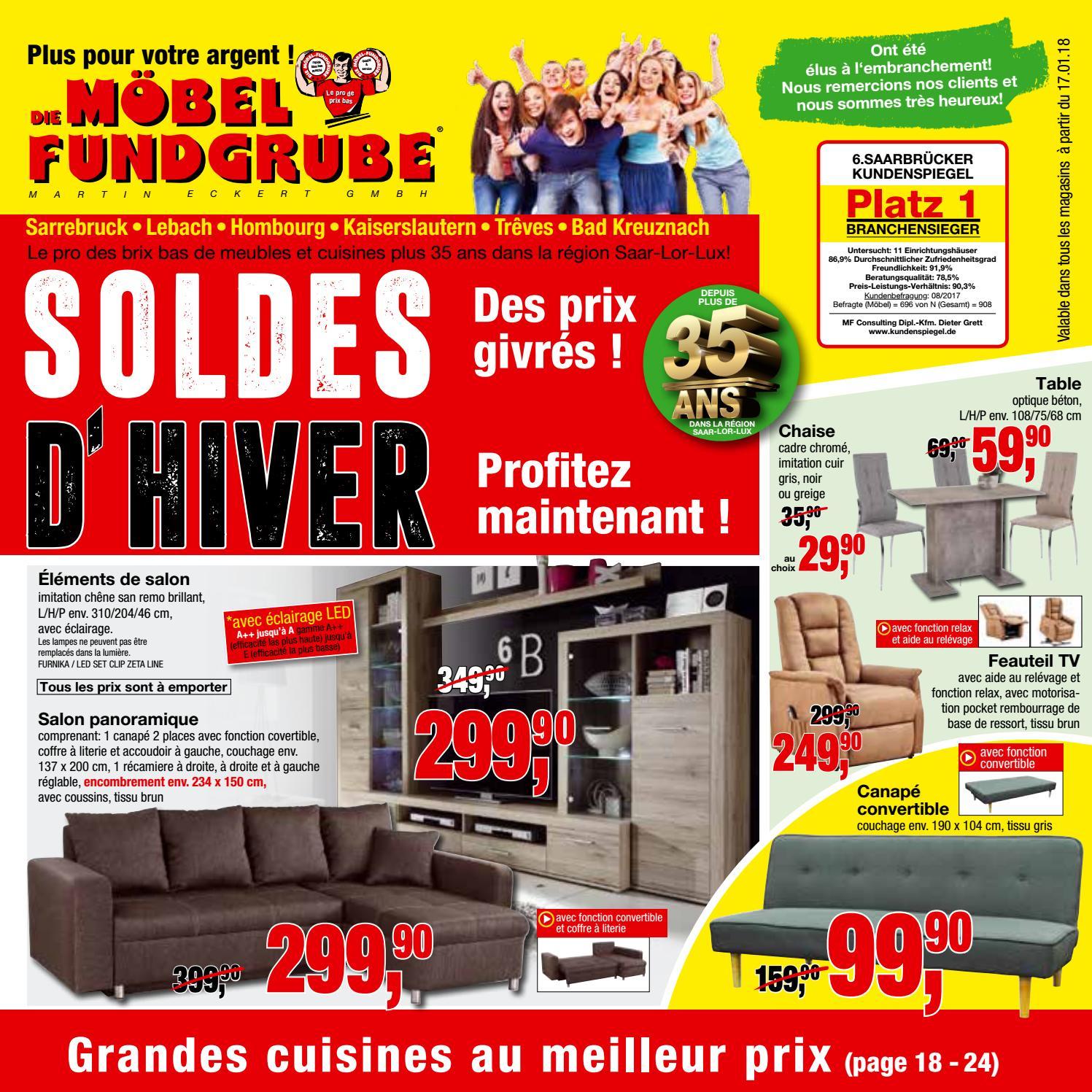 Möbel Fundgrube Prospekt Kw 03 Francais By Die ... à Moebel Fundgrube