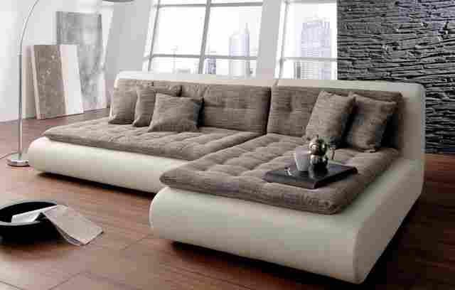 Modern Contemporary Sectional Sofa Ideas Photo: 15 ... dedans Canape Tres Profond