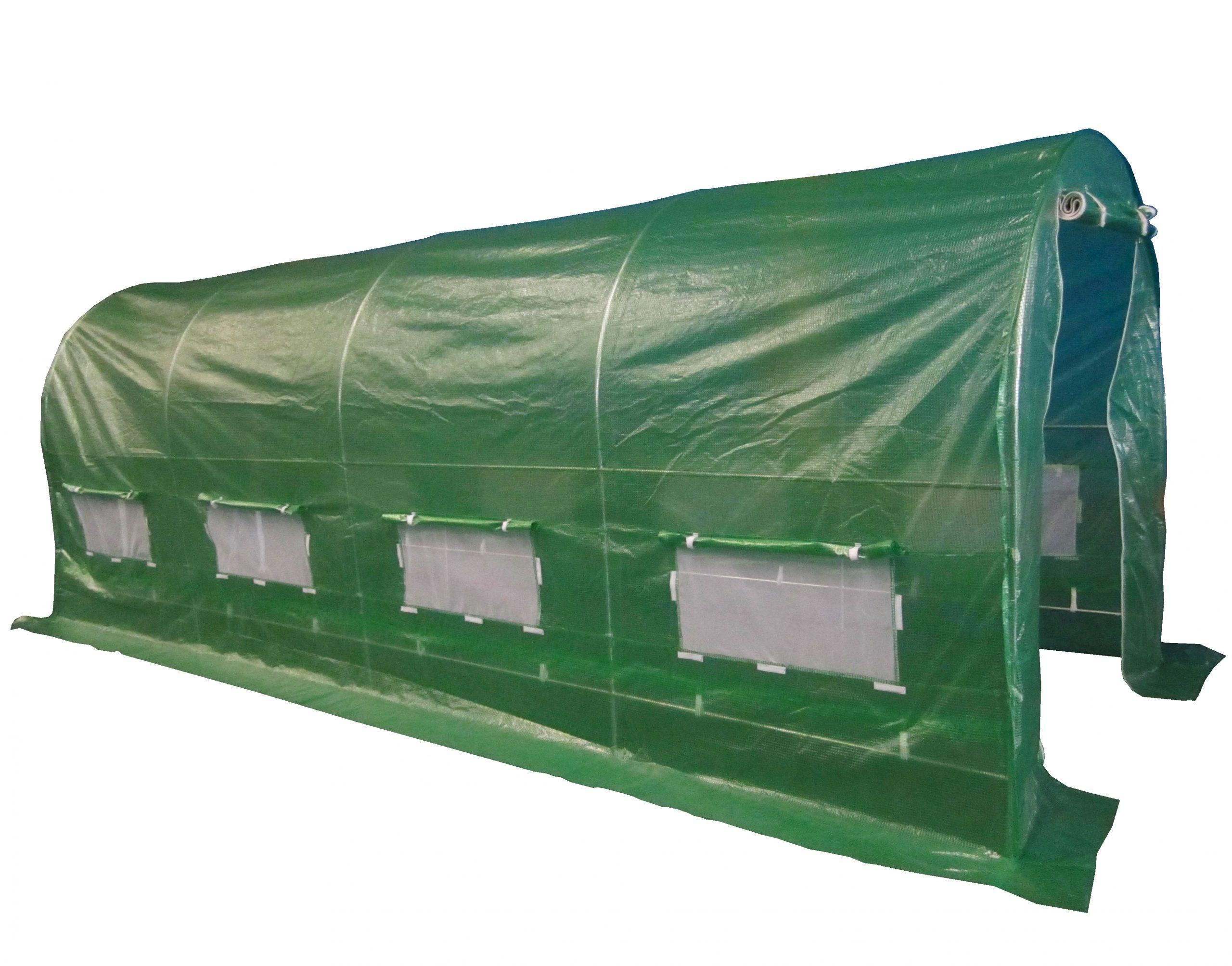 New Greenhouse Fully Galvanised Steel Frame Polytunnel ... serapportantà Serre 6X3X2