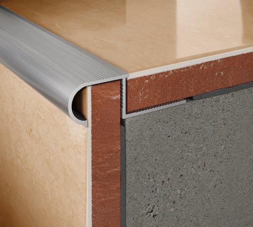 Nez De Marche Rond Aluminium Brut 11 Mm - Brico Dépôt pour Nez De Marche Caoutchouc Brico Depot
