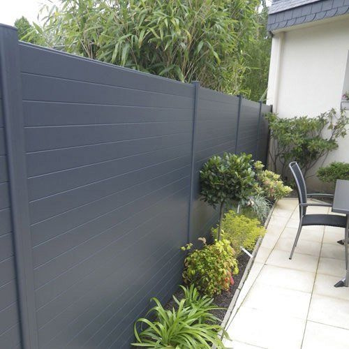 Nom Du Produit:clôture Personnalisable … | Cloture Jardin ... avec Panneau Décoratif Métal Extérieur Leroy Merlin