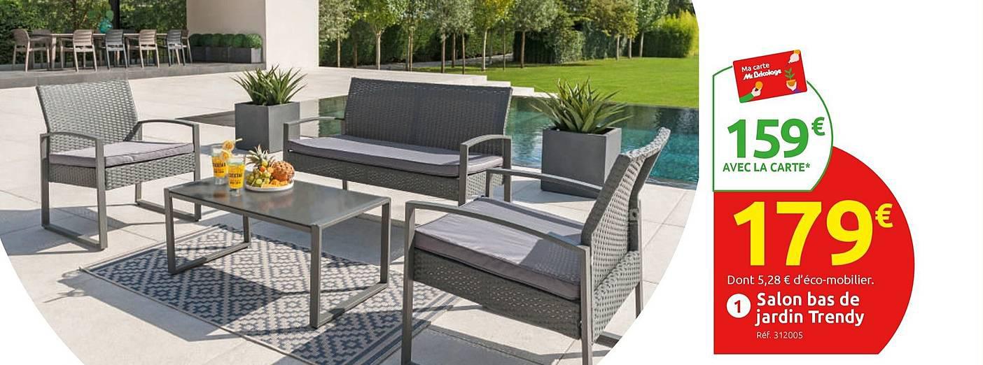 Offre Salon Bas De Jardin Trendy Chez Mr Bricolage concernant Incinerateur Jardin Mr Bricolage
