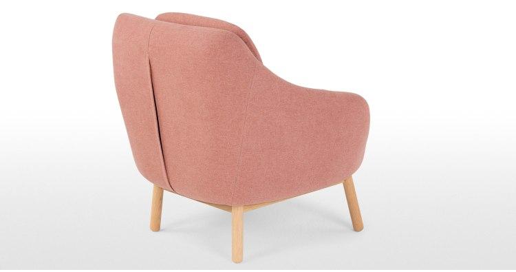 Oslo, Fauteuil D'Appoint, Rose Poudré | Made concernant Fauteuil Rose Poudré Gifi