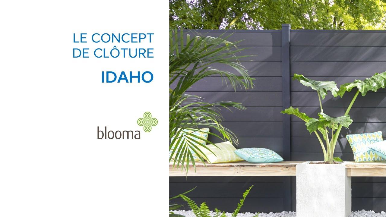 Panneaux De Jardin Composables Idaho Blooma (619652 ... avec Bordure Jardin Pvc Castorama