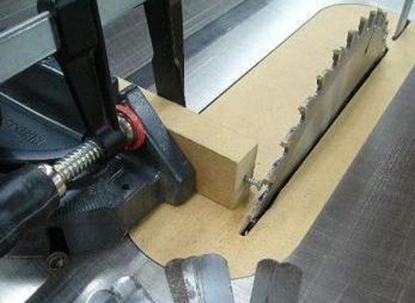 Parallel Blade Checking Jig | Gabarit, Outillage Bois ... pour Couper Parquet Flottant Cutter