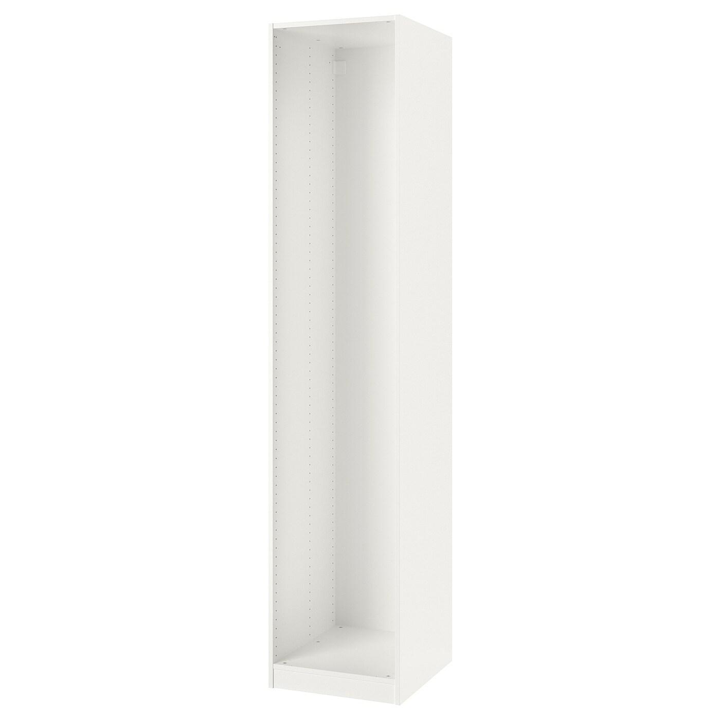 Pax Caisson D'Armoire, Blanc, 50X58X236 Cm - Ikea intérieur Caisson Pax Ikea 100X58X236