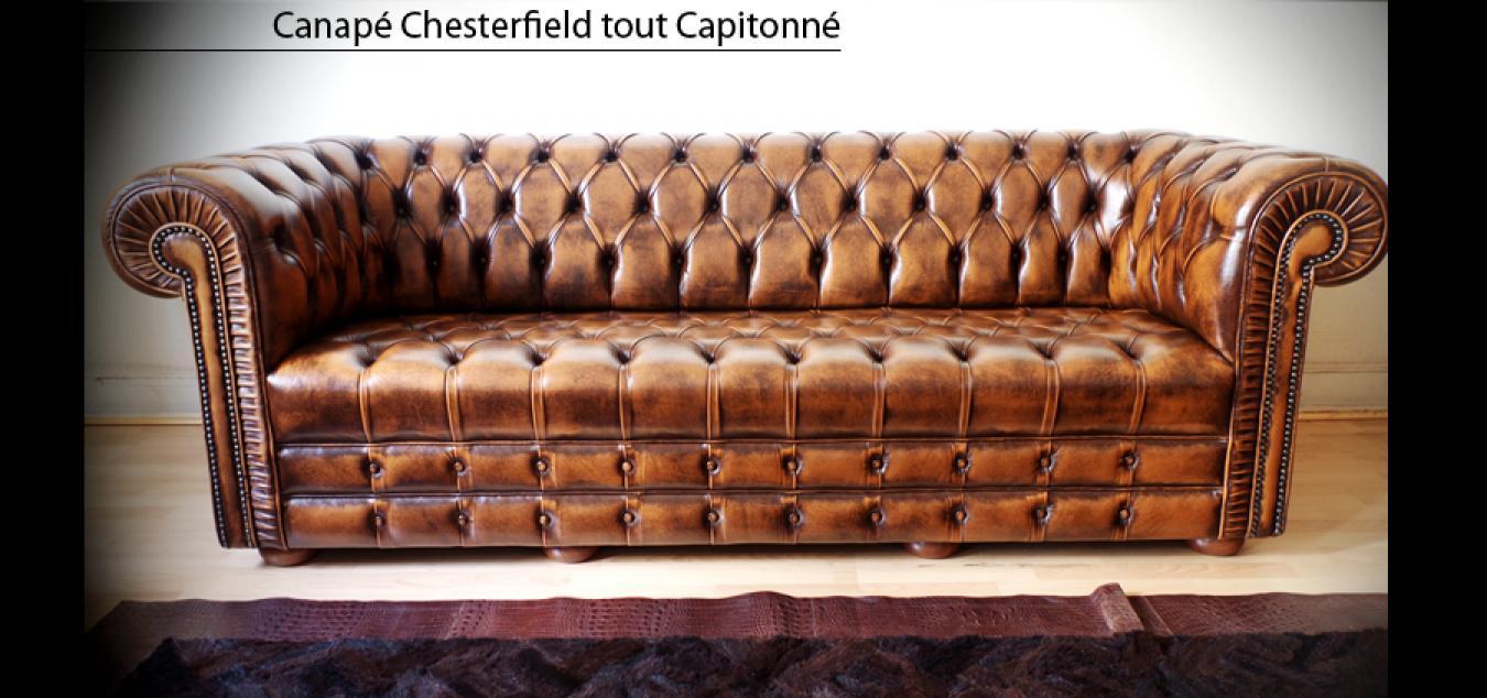 Photos Canapé Anglais Cuir avec Canape Cuir Anglais Chesterfield Occasion