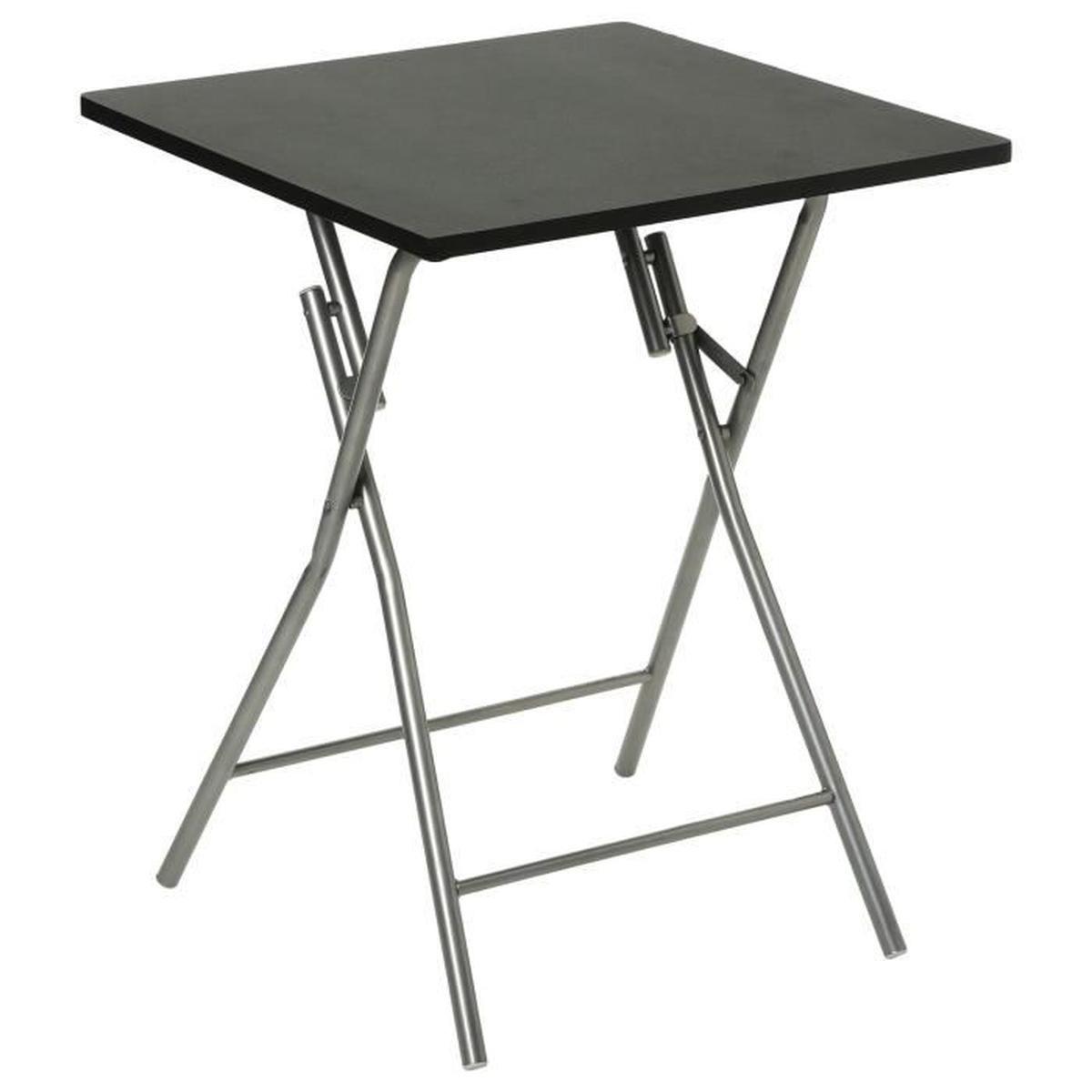 Pied Pliant Pour Table Haute 110Mm encequiconcerne Table Pliante Intermarché