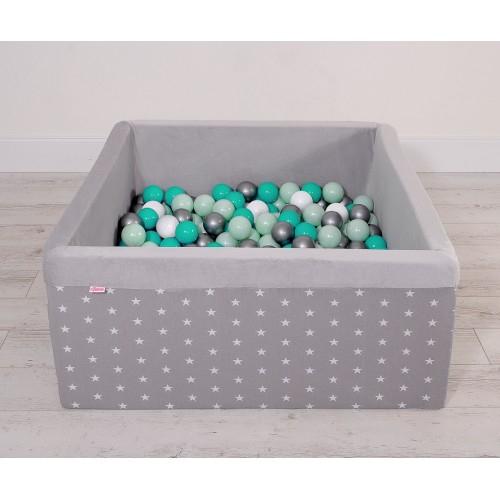 Piscine À Balles Carrée En Mousse intérieur Piscine À Balles Gifi