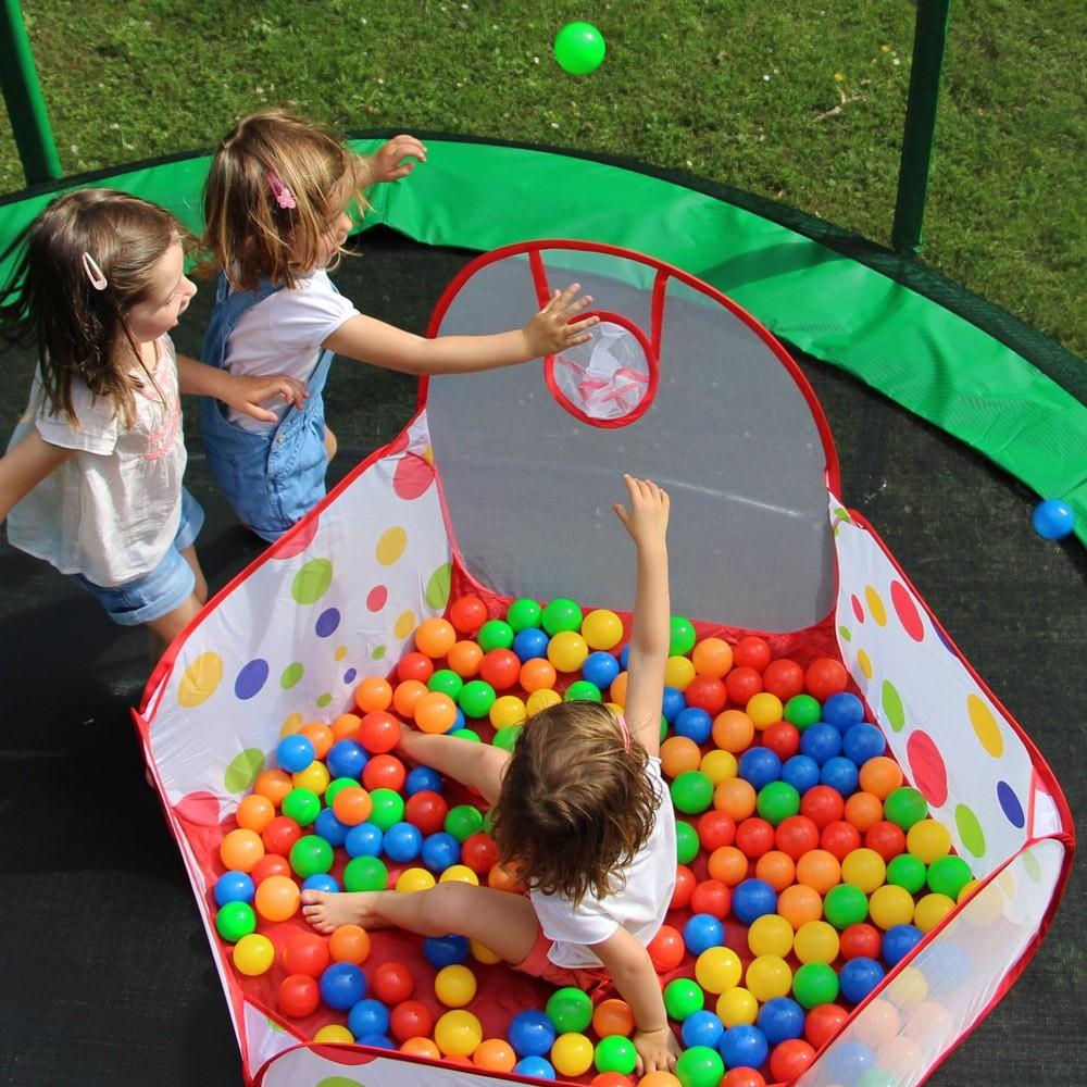 Piscine À Balles Enfant + 200 Balles Multicolores pour Piscine À Balles Gifi