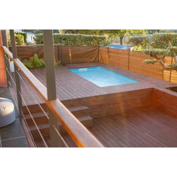 Piscine En Bois Rectangulaire Ubbink Sunwater 200 X 350 intérieur Piscine Bois Sunwater One 360 Ubbink