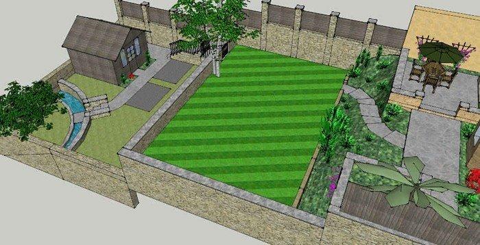 Plan De Jardin À Dessiner Soi-Même En Quelques Étapes Faciles destiné Plan De Jardin 56