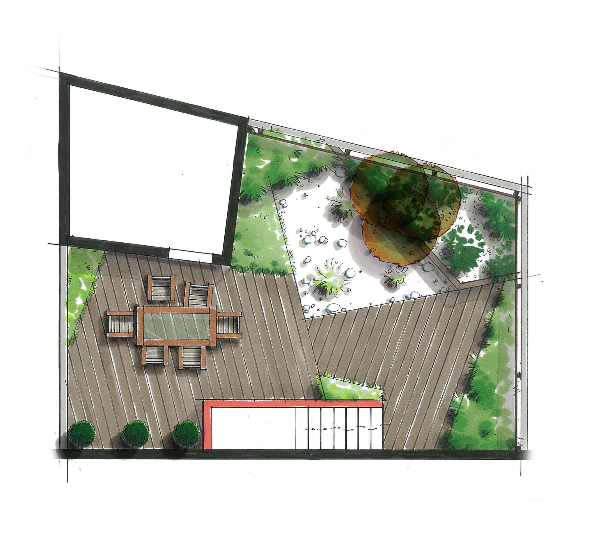 Plan De Jardin - Céline Duclos - Henri Mignon Paysagiste ... pour Plan De Jardin 56