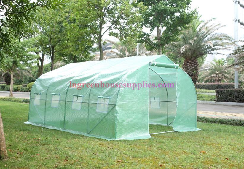 Polytunnel Greenhouse Supplies tout Serre 6X3X2