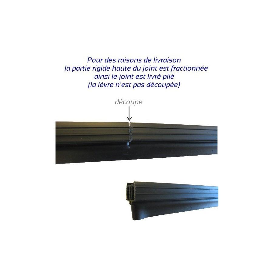 Populaires Seuil Pour Porte De Garage Etanche En Epdm Port ... intérieur Epdm Brico Depot